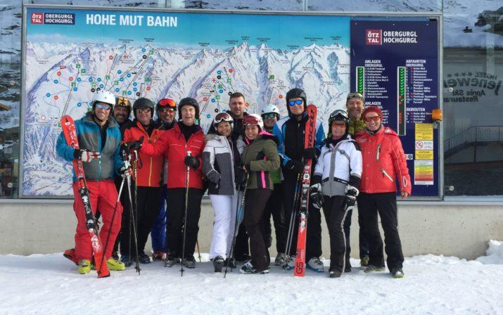 Die Teilnehmer am Sportoptikseminar im Rahmen der Brillen-Profi-Akademie.
