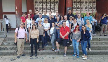 AO-Reisegruppe in Nara